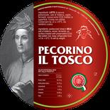 maremma pecora formaggio pecorino caseificio toscano toscana spadi follonica etichetta italiano origine latte italia stagionato grande