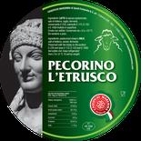 maremma pecora formaggio pecorino caseificio toscano toscana spadi follonica etichetta italiano origine latte italia classico semistagionato nero all'esterno
