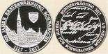 Jubiläumsmedaille anlässlich 900 Jahre Ersterwähnung Schwabachs