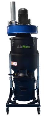 AirMex FAB-40 Industriesauger mit Absaugarm Staub Staubklasse M  Industriestaubsauger