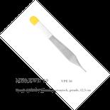 Metall-ADSON-Pinzette, anatomisch, gerade, 12,5 cm