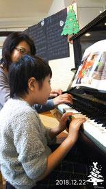 どれみ音楽教室 ピアノ 音楽療法 音楽療育 クリスマス