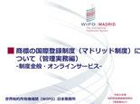 世界知的所有権機関(WIPO)日本事務所