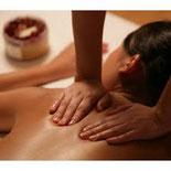 massage du dos et des jambes