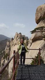 Ulsanbawi Rock dans le parc national Seoraksan