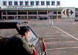 Carrefour Saran photo du film Police Python 357 tourné en 1976 par Alain Corneau