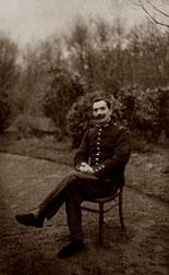 Soldat convalescent au sanatorium du Loiret