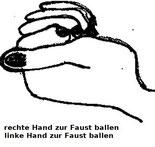 Faust ballen Progressive Muskelentspannung
