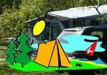 Link zum Wald-Campingplatz DK