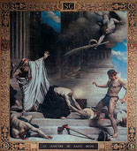 Léon BONNAT - Fresque du Panthéon 1885 - Martyre de Saint Denis