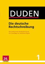 duden deutsche rechtschreibung