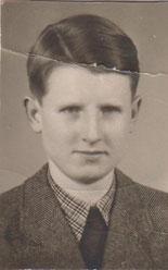 Wilhelm Schray in jungen Jahren