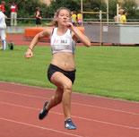 Hannah mit sensationellen Sprint-Zeiten