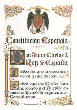 Constituciones españolas.