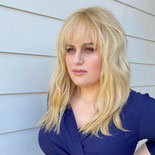 "Rebel Wilson Stuns in Blue Dress, Giving Update on ""Year of Health"" Weight Loss Goals"
