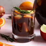 Virgin Prune Juice Pineapple Sangria