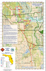 Complete Map Of Florida.Maps And Navigation Thru Hike The Florida Trail