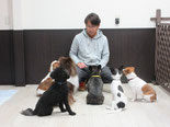 犬の保育園Baby・園長・増田和彦