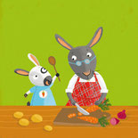 Pappbilderbuch- / Kinderbuch-Illustration von Tina Schulte