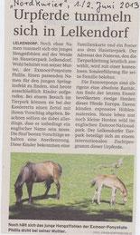 Nordkurier 01.06.2013