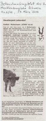 Bekannmachungsblatt M-S 17.03.2012