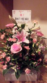 ゆり、バラととてもいい香り!