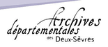 logo des Archives départementales des Deux-Sèvres