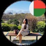 Ms. ANDRIAMISAHARIMANANA ANJATIANA LUCIA VOLANA PhD Student in Japan from Madagascar)
