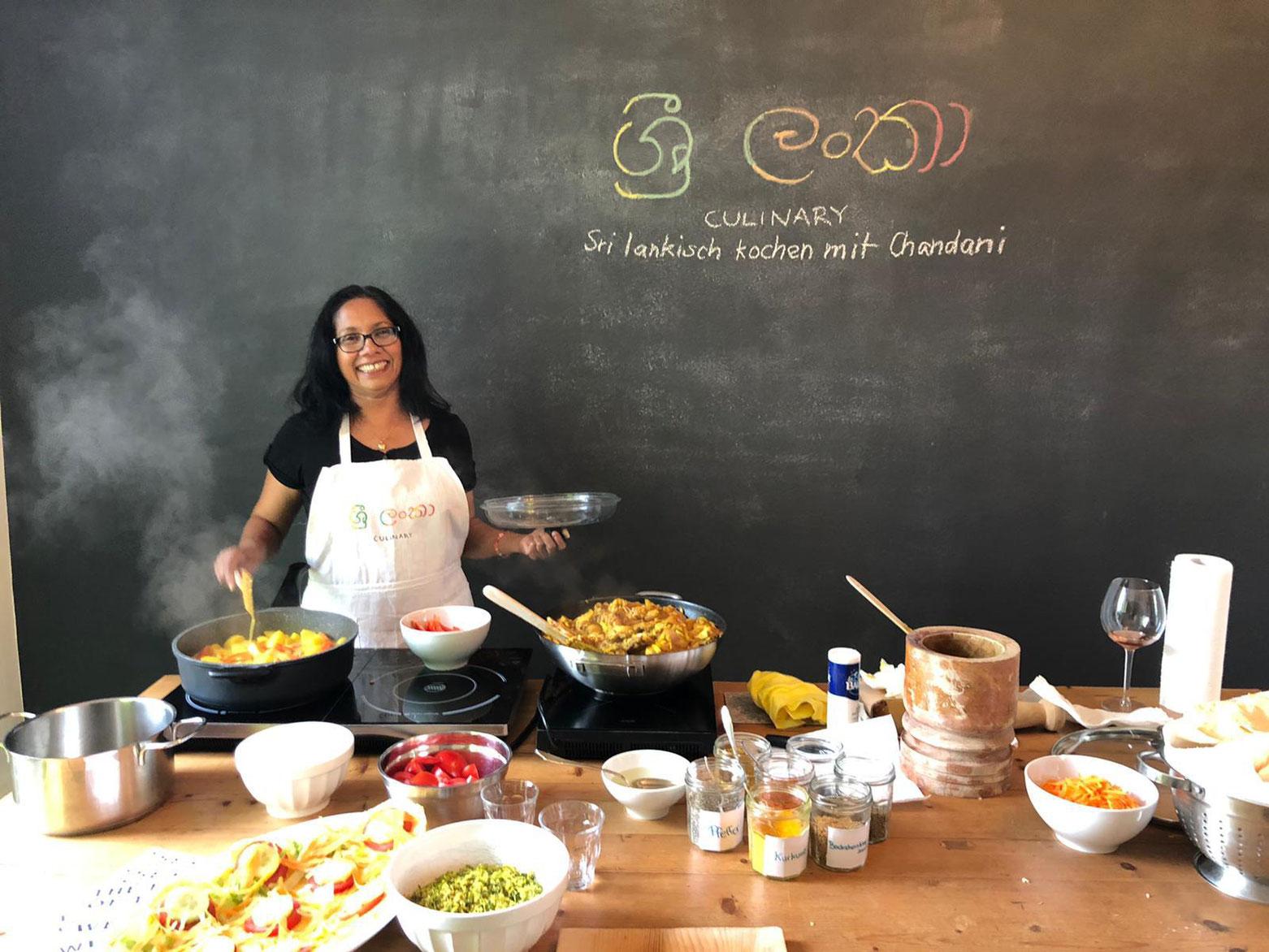 Chandani kocht Sri Lana Küche