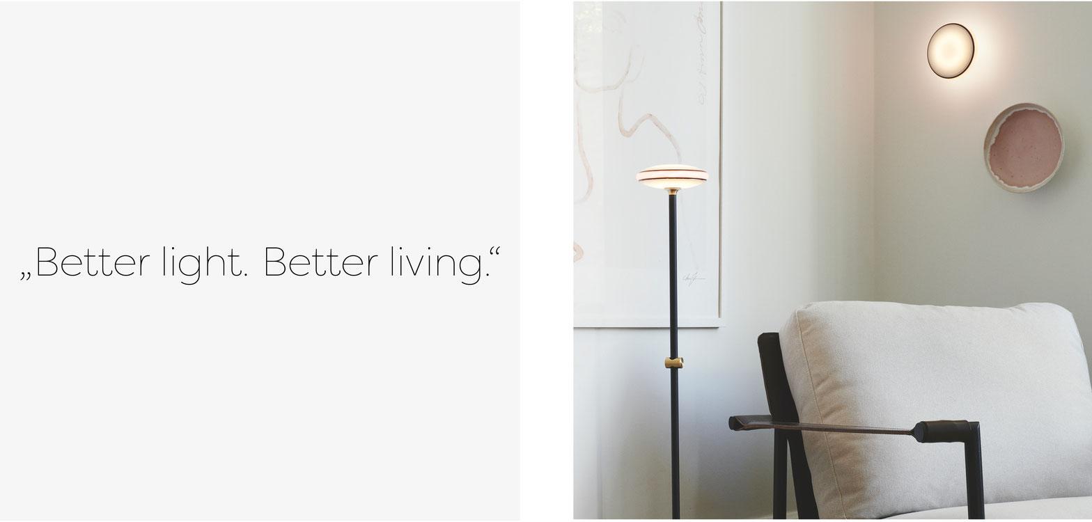 Shade glaubt, dass das richtige Licht in unserem Zuhause essenziell für unser Wohlbefinden ist. Das glauben wir auch.