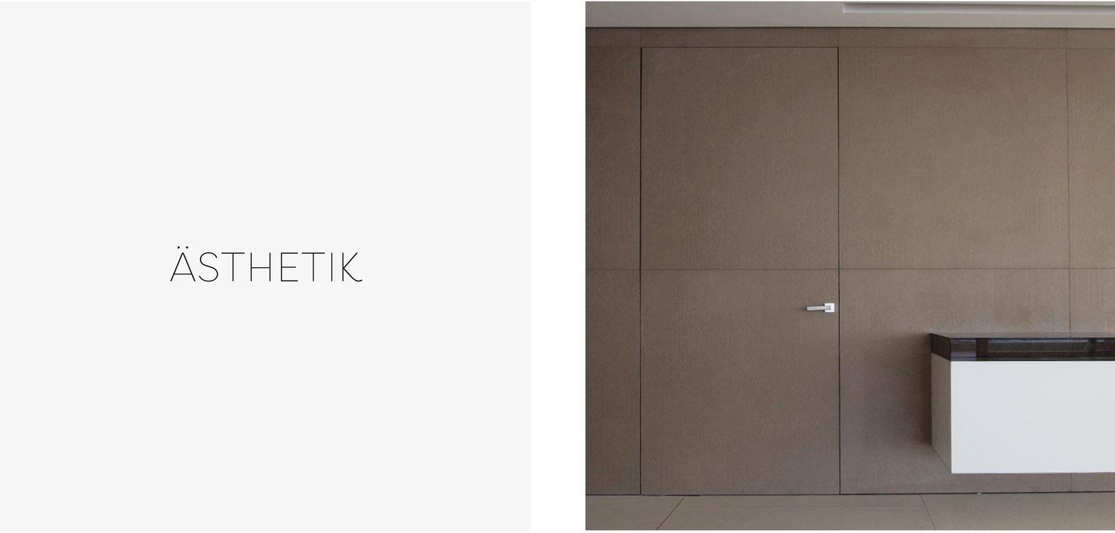 Die Kombination aus hochwertigen Materialien und edlem Design macht Linvisibile zu einem ganz besonderen Herstellen für Türen und Türsysteme, die sich perfekt in den Raum integrieren.