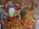 Francisco_Pizarro_und_Atahualpa_Gemälde_im_Fortaleza_San_Felipe_Calloa_Foto:_Paititi-Tours