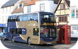 Express buses from and to Bicester