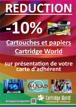 Cartridge World Partenariat 2017-2018