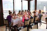 Repas avec vue panoramique