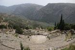Le theatre de Delphes