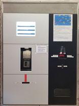 Chipkarten-Automat im Eingangsbereich