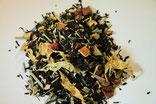 Schwarze Tees aromatisiert