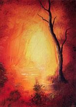 peinture d'arbre