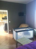 chambre avec lit bébé gite villers cotterets