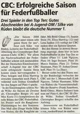 Cronenberger Woche Bericht vom 21.11.2008