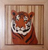 Marqueterie - Tigre