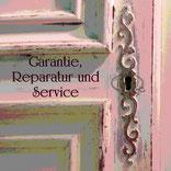 Garantie, Reparatur, Service