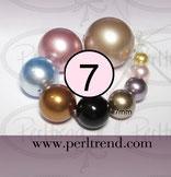 Crystal Perlen Rund 7mm Swarovski CrystalPearls