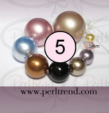 Crystal Perlen Rund 5mm Swarovski Crystal Pearls