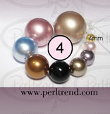Crystal Perlen Rund 4mm Swarovski Crystal Pearls