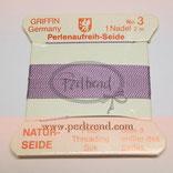 Perlenseide violett
