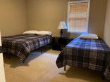 First Bedroom Queen & Twin Beds