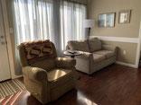 Hilltop Hideaway Living Area