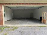 Big garage w/Garage Door Opener